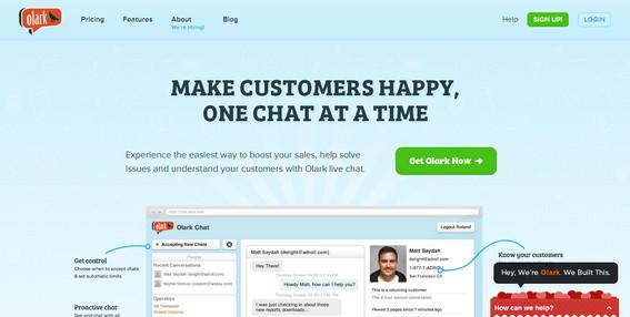 Olark Live Chat Supporto Clienti